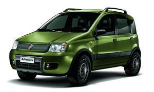 Fiat представил спецверсию Panda 4x4 Adventure